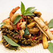 Pad Cha Seafood